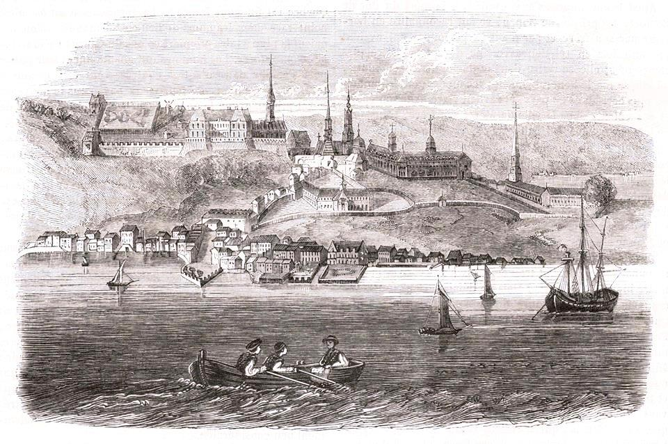 Quebec City in 1720